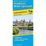 Frankfurt - Main - Spessart: Radwanderkarte mit Ausflugszielen, Einkehr- & Freizeittipps, wetterfest, reissfest, abwischbar, GPS-genau. 1:100000