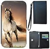 Flip Cover Schutz Hülle Universal M Handy Tasche Etui Case
