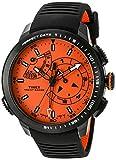 Timex Intelligent Quartz TW2P73100DH da uomo con Band-Orologio, colore: nero