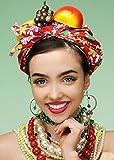 Sombrero brillante de la fruta del Showgirl del estilo de Carmen Miranda