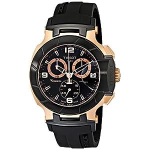 Tissot T-Race Rose Gold Men's 45mm Chronograph Quartz Watch T0484172705706
