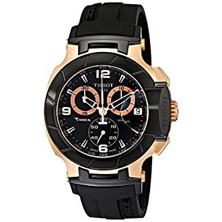 Tissot T-Race Rose Gold Men's 45mm Chronograph Quartz Watch T0484172705706