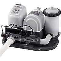 Intex Combo depuradora Cartucho + cloracion Salina Eco 26.500 litros (28674)