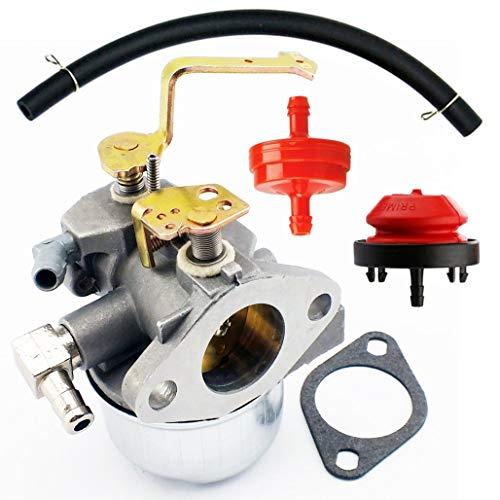 QAZAKY Carburador Junta Filtro Combustible Línea