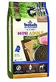 bosch Hundefutter Mini Adult Geflügel & Hirse 1 kg, 5er Pack (5 x 1 kg)