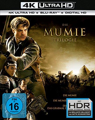 Die Mumie - Trilogy (3 4K Ultra HD) (+ 3 Blu-rays)