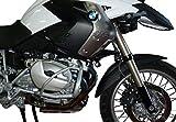 MotorbikeComponents, Paracilindri-paramotore tubolare in ferro verniciato Argento modello EVO - BMW R 1200 Gs 2011