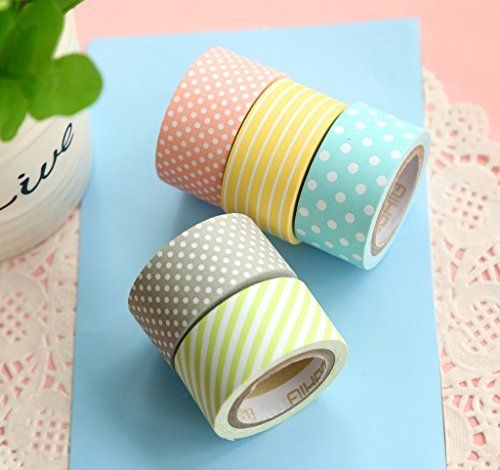 ganssia-colorful-dot-serie-abdeckpapier-tape-wide-20mm