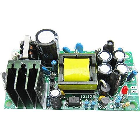 Kissing U AC a DC Aislamiento Doble Salida de Conmutación del Módulo de Fuente de Alimentación de AC 85-265V de la DC 12V 1A / 5V 1A Buck Converter con EMI Circuito de Filtro Regulador de Voltaje Constante