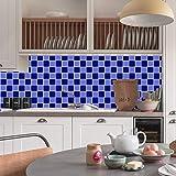 HARRYSTORE Bad Küche Wasserdichte Selbstklebende Aufkleber Mosaik Fliesen Aufkleber