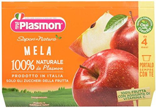 Plasmon Omogeneizzato di Frutta Mela Sdn - 24 Vasetti usato  Spedito ovunque in Italia