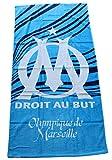 OM- Serviette - Drap de bain/plage Olympique de Marseille 75 x 150 cm - Club Thauvin