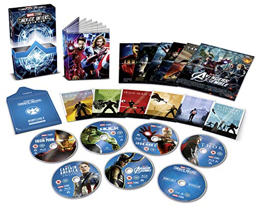 Marvel Cinematic Universe Phase 1 [Blu-ray] [UK Import]