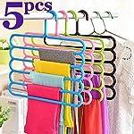 Angel Bear Multipurpose Hanger for Shirts,Ties,Pants Space Saving Hanger, Cupboard Organizer, Strong