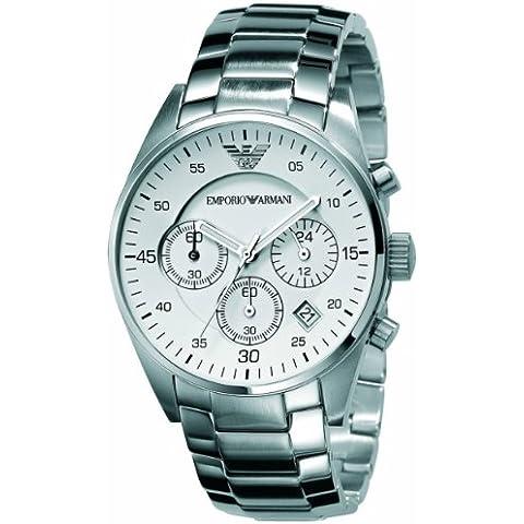 Emporio Armani AR5870 Mens Sports White Black Watch