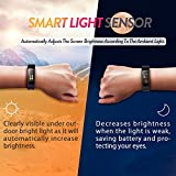 Antimi Fitness TrackerColor Screen Waterproof Sports Smart Watch Wristband With Heart Rate Monitor Activity Tracker Pedometer For IOS Android