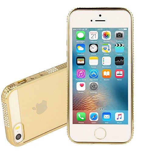 TECHGEAR® Schutzhülle für Apple iPhone 5S & iPhone 5 OR (DIAMANT)