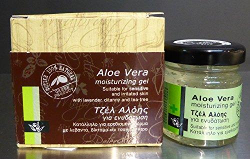 Aloe Vera Gel et de réparation hydratant 40 ml