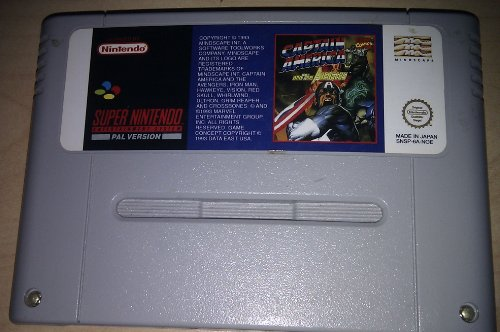 Captain America (SNES)