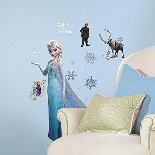 RoomMates Frozen Peel & Stick Wall Décor Set -