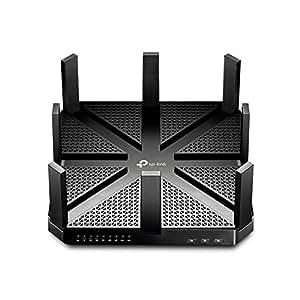 TP-LINK Talon AD7200 Ethernet/LAN Noir Routeur connecté - Routeurs connectés (10,100,1000 Mbit/s, 10/100/1000Base-T(X), Ethernet (RJ-45), 3.0 (3.1 Gen 1), IEEE 802.11a,IEEE 802.11ac,IEEE 802.11ad,IEEE 802.11b,IEEE 802.11g,IEEE 802.11n, 2,4 - 5 GHz)