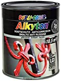 Dupli Color 245466 Alkyton Smalto Antiruggine, 750 ml, RAL 9005 Nero Profondo