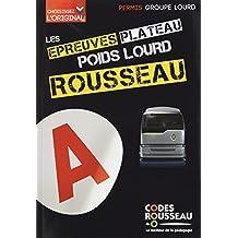 CODE ROUSSEAU ORAL POIDS LOURD 2017