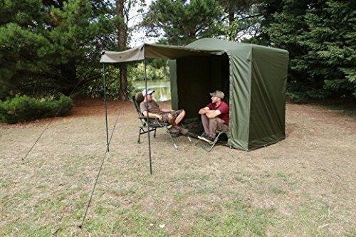 Fox Royale Cook Tent Station Angelzelt, Kochzelt Karpfenzelt -Karpfenangeln, Anglerzelt, Schirmzelt, Zelt komplett