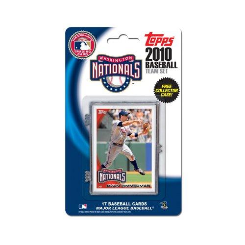 Offizielles MLB Washington Nationals Baseball Karten von Topps 599361 - Baseball-karten Topps