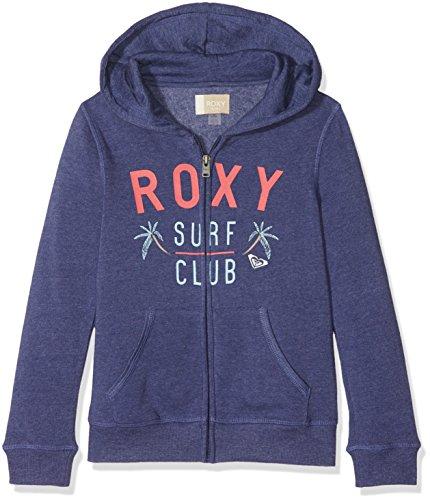 Roxy Kinder Hoodie (Roxy Mädchen THEENDLESSROUND G OTLR BRE0 Fleece Top, Deep Cobalt - Solid, 12/L)