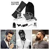 Set de Afeitado Peine y Delantal para Barba Hombre. Cuidado y estética de Shavermen. Productos para...
