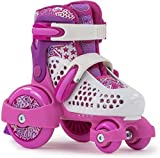 Sfr Skates SFR068, Pattini Unisex Bambini, Multicolore (Girls), 23-27