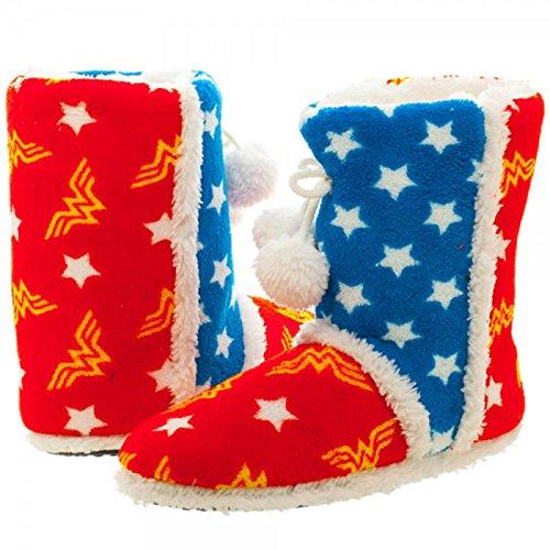 DC Comics Wonder Woman-Pantofole dicono le donne taglia s, small