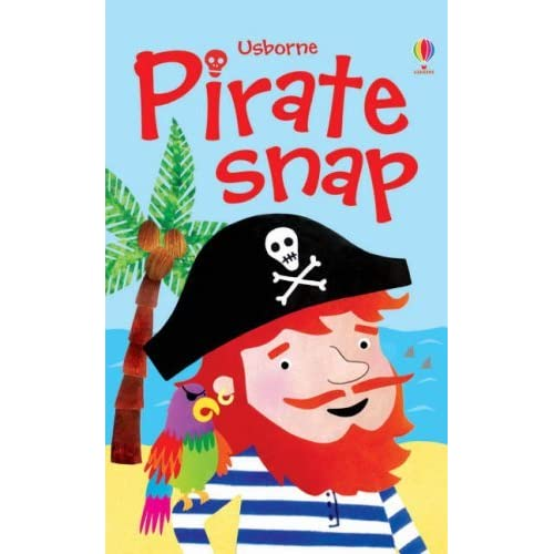 Pirate Snap (Usborne Snap Cards) by Erica Harrison (Illustrator) (25-Aug-2006) Cards