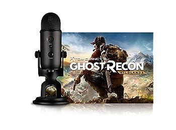 Blue Microphones Blackout Yeti + Tom Clancy's Ghost Recon Wildlands PC: Streamer Bundle