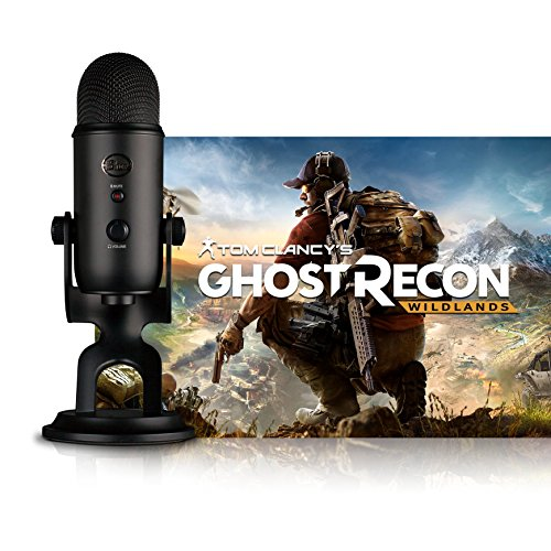 (Blue Blackout Yeti USB Mikrofon + Ghost Recon PC: Streamer Bundle)