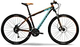 Haibike Big Curve 9.40 29 Zoll Mountainbike Schwarz/Cyan/Orange Matt (2016), 45