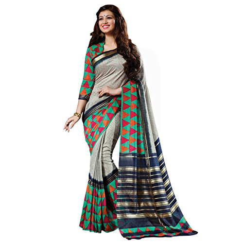 Sarees (Women's Clothing Saree Today best offers buy online in Low Price Sale Designer Multi Color Art Silk Fabric Free Size Ladies Sari With Blouse Piece)  available at amazon for Rs.265