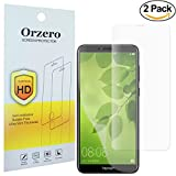 [2 Pack] Newzerol Huawei Honor 7X Screen Protector 3D Edge to Edge [Full Coverage] [ Case Friendly ] Soft Screen Protector Not Glass, High Definition Anti-Scratch Anti-Fingerprint Protective Film for Honor7X - Clear [Lifetime Replacement Warranty]