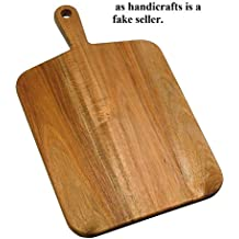 Bois Art Classic Wooden Chopping/Cutting Board/Serving Platter, Large (18X10.5 in) - BORAHC0002