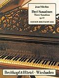 Cover of: 3 Sonatinen op. 67 für Klavier (EB 8102)   Jean Sibelius