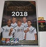 Rewe Sammelalbum DFB WM 2018 Neu Weltmeister Sonderalbum und 1 Tüte und bmg2000 Aufkleber