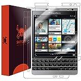 Best HTC NUOVO sbloccato Cellulari - Skinomi TechSkin - pellicola protettiva per BlackBerry Passport Review