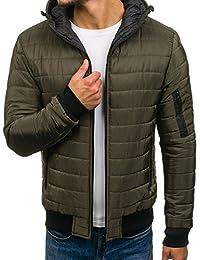 BOLF – Veste avec capuche – Fermeture éclair – Blouson – Homme 4D4