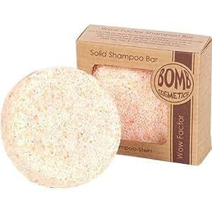Wow Factor Shampoo-Stein 50g mit Teebaum und Zedernholzöl von Bomb Cosmetics