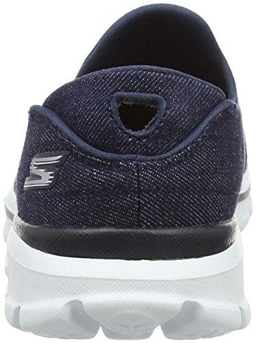 Skechers - Go Walk 3, Scarpe da ginnastica Donna Blu (Blue (Den))