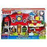 Fisher-Price Fkd78Little People Soin pour les animaux de la ferme jouet d'activité
