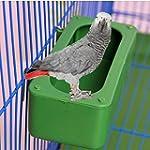 Bird Food Feeding Dish Water Feeder B...