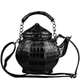 TOOGOO Interessante Gothic Tee Kanne F?rmige Handtasche Handtasche Umh?nge Tasche Damen...