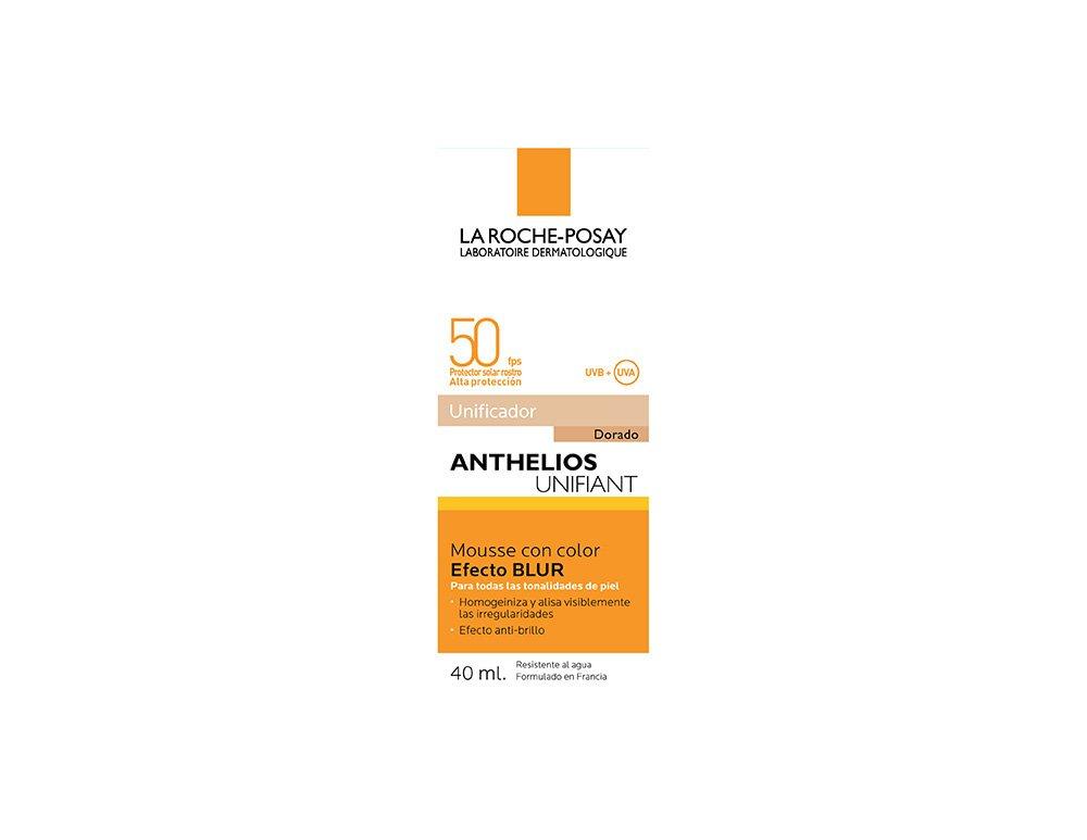 La Roche Posay Anthelios – Blur Unifiant Alisador Optico SPF50, Coloreada Unificante, 50 ml